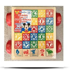 Parks Classic Abc 123 Wooden Blocks