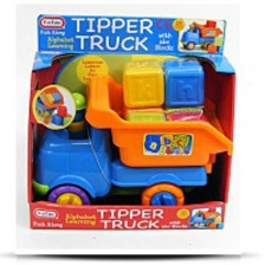 Tipper Truck With Abc Blocks