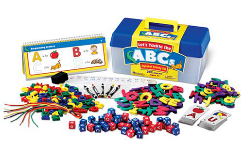 Learning Resources Let's Tackle The Abc's