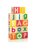 Uppercase And Lowercase Alphabet Blocks