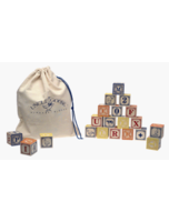 Wooden Abc Blocks With Bag